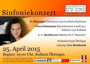 Plakat Frühling 2015 quer A4